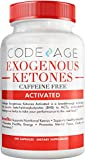 Codeage Keto BHB Exogenous Ketones Supplement Pills w. BHB Salts, Electrolytes, MCTs & Adaptogens - Keto BHB Oil Capsules Beta Hydroxybutyrate, Keto Vitamins Keto Salts, 240 Capsules