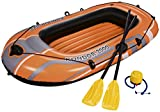 Best Inflatable Boats - Bestway H2OGO! HydroForce Inflatable Raft w/ Oars Review