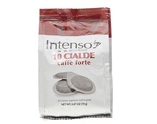 6x Intenso Cialde Forte Espresso Pads Kaffee Beutel mit 10 kaffeepads
