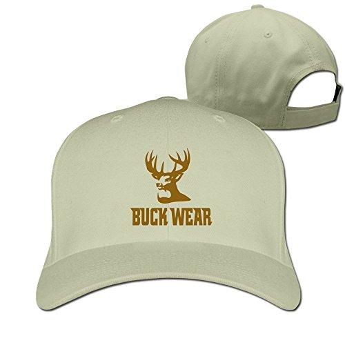 Feruch Buck Wear Food PoopsHat Baseball Caps Natural