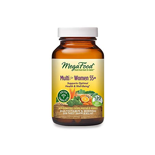 MegaFood, Multi for Women 55+, Supports Optimal Health and Wellbeing,...