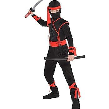 amscan 846833 Boys Shadow Ninja Costume X-Large Size  14-16 Years Old