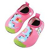 TAGVO Zapatos de Agua Baby Girl Girl, Zapatos de Natación de...