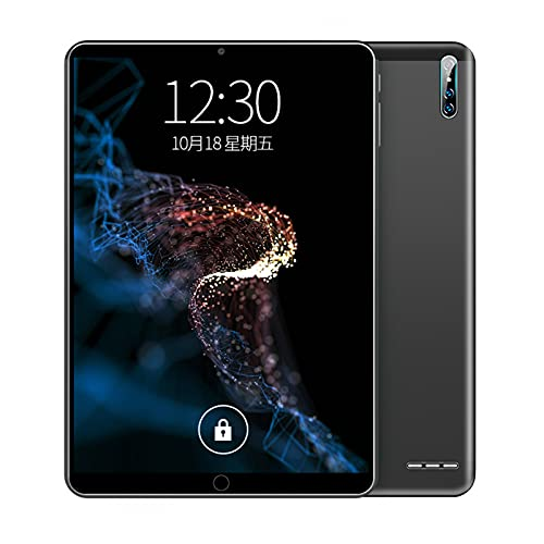 HTYQ Tableta Inteligente Portátil con Android, Pantalla Táctil Grande De 10 Pulgadas, Tableta WiFi Ultrafina 4G, Memoria 2G + 32G, Cámara Dual De 2MP + 5MP, Batería De 4500 MAh
