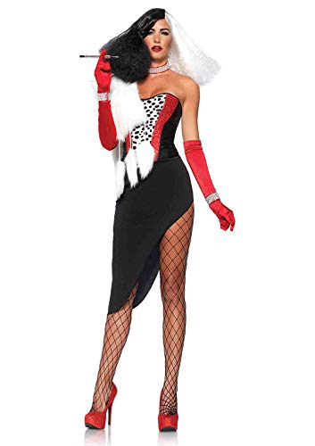 Leg Avenue 85396 – Diva Cruel para Disfraz