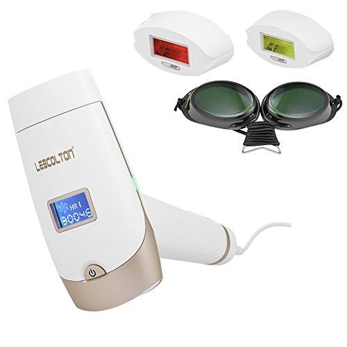 Anself IPL Haarentfernungsgerät Epilator Enthaarungsmittel Haar Abbau Maschinen Ausgangsgebrauchs mit LCD Anzeigen für Körper, Gesicht, Bikini Zone und Achseln
