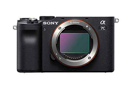 Sony Alpha 7C Full-Frame Mirrorless Camera - Black (ILCE7C B)