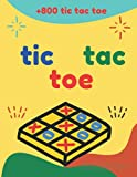 tic tac toe paper game book for kids and family: Tic Tac Toe, Games Fun Activities for Kids / Paper & Pencil Workbook for Games, Smart gifts for Family