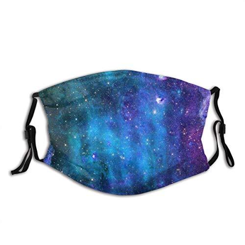 Weltraum-Galaxiensterne im Weltraum Himmlische astronomische Planeten im Universum Milchstraße Unisex Waschbare und Wiederverwendbare Baumwolle Warmer Gesichtsschutz für den Außenbereich