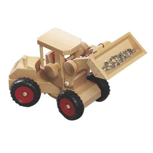Fagus 10.47Holz Spielzeug Spielfahrzeug–Fahrzeuge von Holz, Braun, 40cm