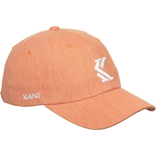 Karl Kani Herren Snapback Caps Denim pink Verstellbar