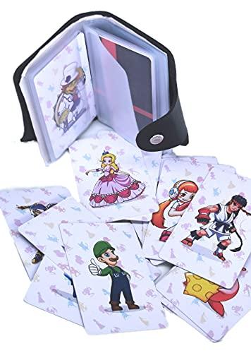 Lote de 20 tarjetas NFC estilo Amiibo para el juego Super Smash Bros Ultimate con una bolsa de almacenamiento