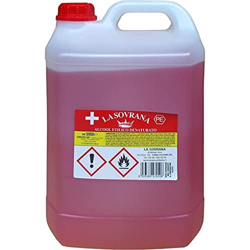 Alcool éthylique dénaturé 90° – 5 litres