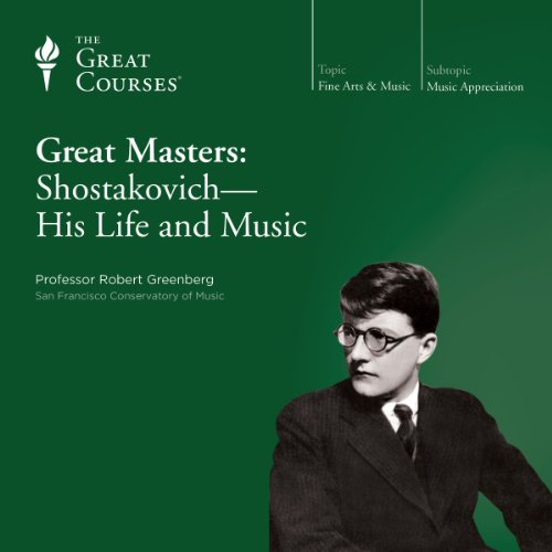 『Great Masters: Shostakovich - His Life and Music』のカバーアート