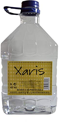Aguardiente 40% Vol. Xaris. (3 Lt.)