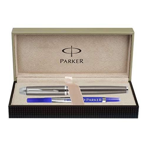 Parker Odyssey Chrome Trim Blue Roller Ball Pen