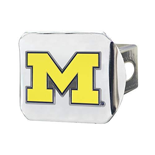 Preisvergleich Produktbild SLS Michigan Wolverines 3D-Emblem,  Chrom