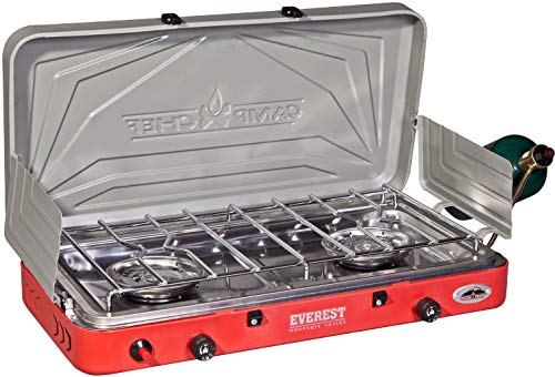 Camp Chef Everest 2 Burner Stove (Renewed)