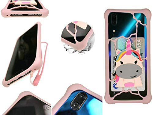Huayijie Silicona Funda para Cubot X20 Pro R19 J7 J5 Quest Lite MAX 2 R15 X19 A5 King Kong 3 J3 Nova Power P20 R11 X18 Plus H3 Note Magic R9 Rainbow Cheetah Manito Z100 Echo X16 S Dinosaur Hema