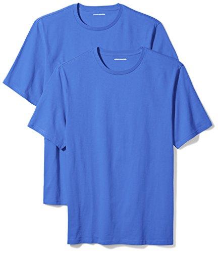 Amazon Essentials Camiseta Hombre, Pack de 2