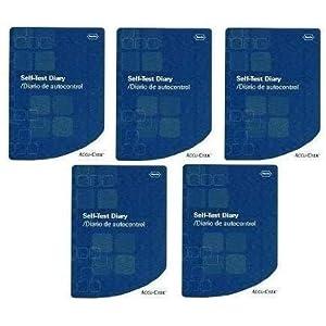 buy  Accu-Chek Self-Test Diary (Pack of 5 Accu Chek Log ... Blood Glucose Monitors
