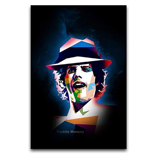 WPQL Disfraz de Freddie Mercury, de la Reina Leer, para pared, lienzo