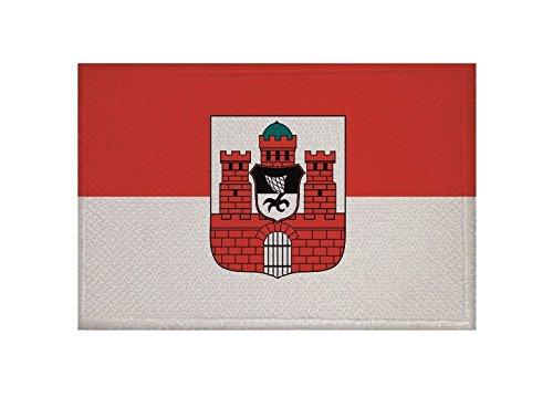 U24 Aufnäher Bad Kissingen Fahne Flagge Aufbügler Patch 9 x 6 cm