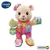 VTech-80-194522 Oso de Tela Interactivo, Color Rosa (3480-194522)