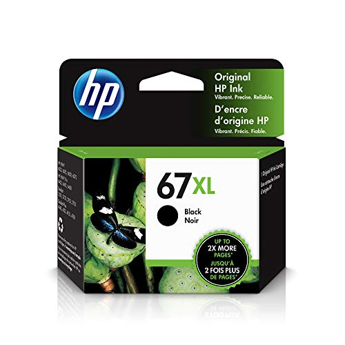 HP 67XL | Ink Cartridge | Black | 3YM57AN
