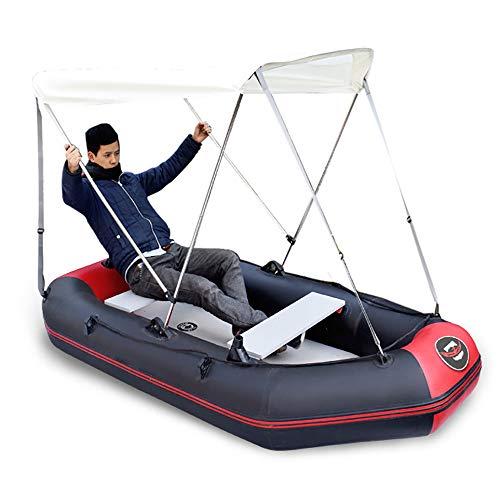 HYDDG Barca Tenda 2 Persone Kayak Gonfiabile Traghetto Resistente all'Usura Canoa Gonfiabile Pagaia in Alluminio Pompa dell'Acqua Bambino Adulto Pompa A Mano Gruppo Alto