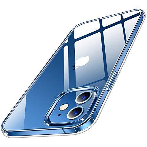 Humixx Crystal Clear Kompatibel mit iPhone 12 Mini Hülle (5,4 Zoll) Transparent Anti-Gelb Handyhülle, Anti-Fall-2M Stoßfest Hardcase Anti-Scartch, Klar Schutzhülle Case