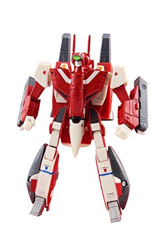 Toynami 10560 Robotech 1/100 Miriya VF-1J Super Veritech Collectible Play Figure, Red, 6'