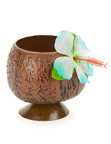 DEGUISE TOI - Coupe Hawaï Noix de Coco Tropicale - Taille Unique