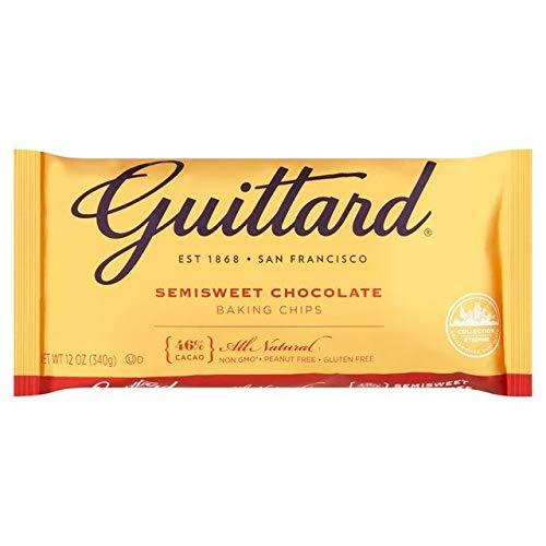 Guittard Chocolate Real Alternative dealer Semisweet 46% Chips 340g Cacao Baking Under blast sales -