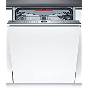 Bosch Serie 6smv68mx03e Fully Integrated 14Cutlery A + + + Dishwasher–Fully Integrated Dishwasher (, White, Full Size (60cm), Silver, Touch, LED)