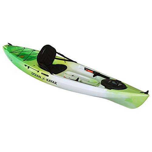 Ocean Kayak Tetra 10 One-Person Sit-On-Top Kayak, Envy, 10 Feet 8...