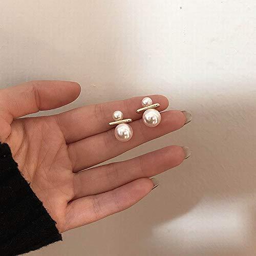 xingguang Pendientes de la novedad Coreana Pendientes de la perla para las mujeres Simple todos los pendientes del partido 2020 Joyería de la
