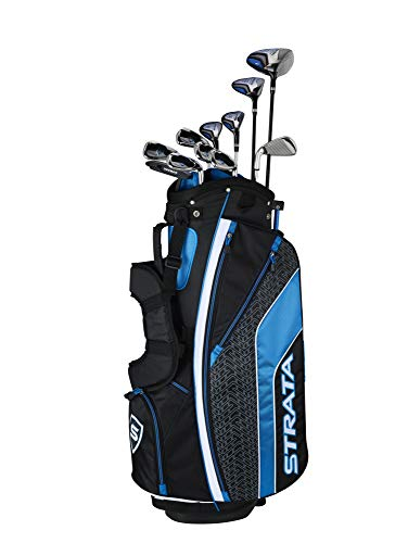Callaway Men's Strata Ultimate Complete Golf Set (16-Piece, Left Hand, Steel)