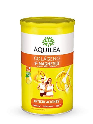 AQUILEA Uriach Artinova Colágeno+magnesio con Ácido Hialurónico y Vitamina C, Sabor Limón, 375 G