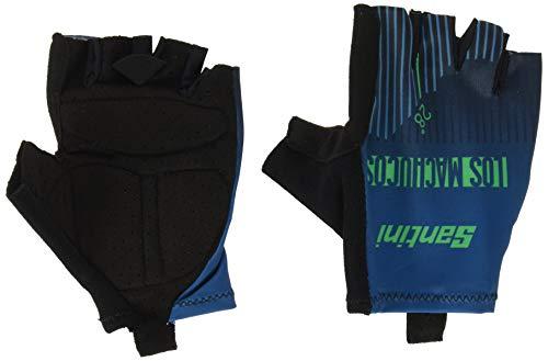 Santini La Vuelta-Los Machucos 2019, Unisex Erwachsene Handschuhe Einheitsgröße Mehrfarbig