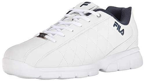 Fila Men's Fulcrum 3 Cross Trainer, White/White Navy, 11.5 D US