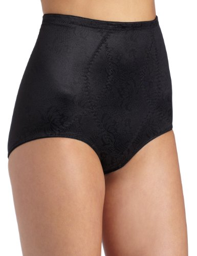 Maidenform Flexees Women's Shapewear Brief Firm Control, Black, Large