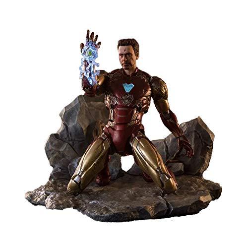 BANDAI - Iron_Man Figure, Multicolor, 8DDBA027B9