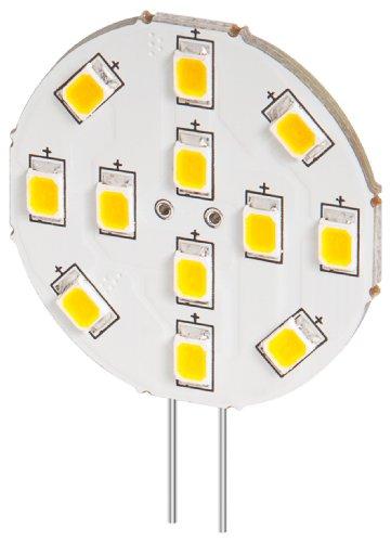 goobay 5er Set LED Einbaustrahler 2 W Sockel G4, ersetzt 20 W, 170 Lumen warm-weißes Licht mit 2800 K