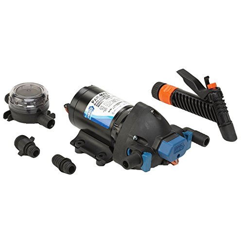 Jabsco 32605-0092 Marine ParMax 4.0 GPM Washdown Pump Kit, 60 PSI, 12...