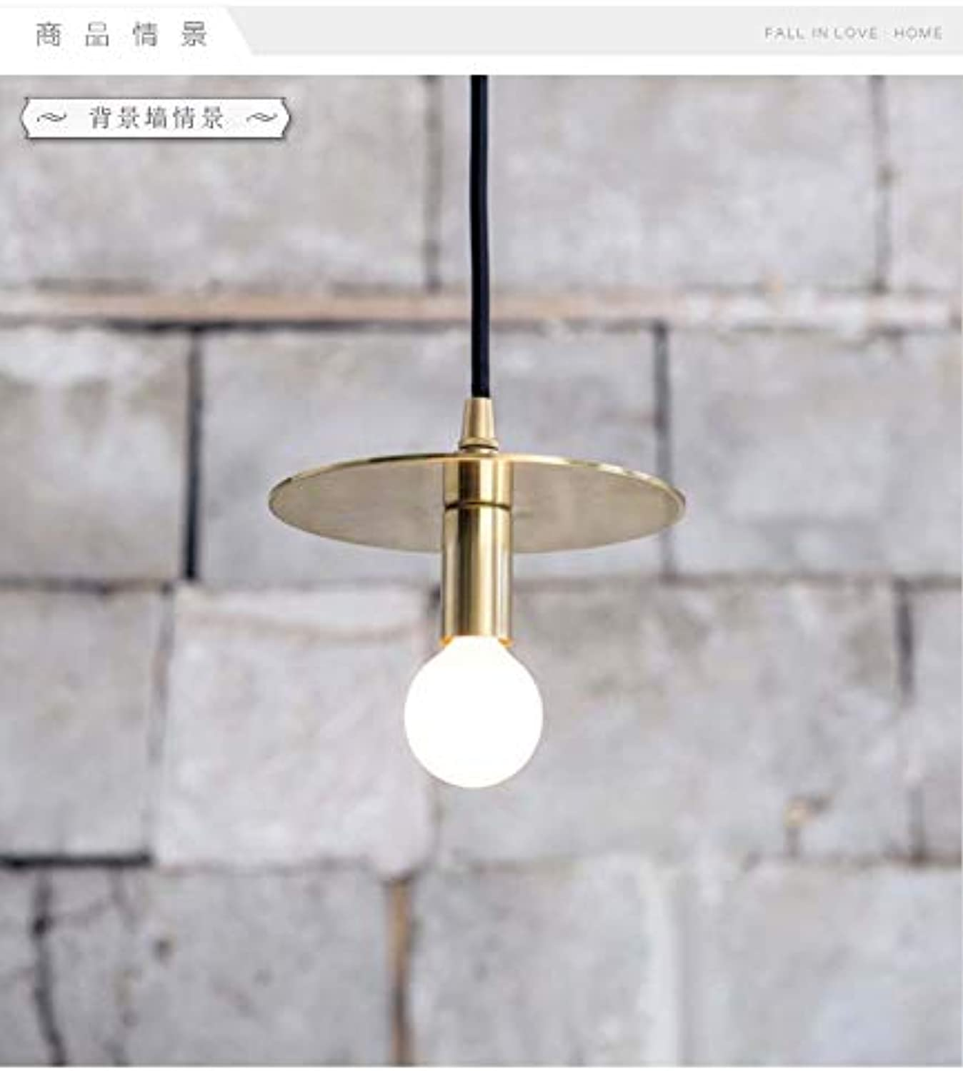 Hngeleuchte Modern Vintage Copper Iron Gold Pendant Lights Caferoom Bar Lamp Single Glass Pendant Lamps Decoration Indoor Lighting E27 Gold Farbe
