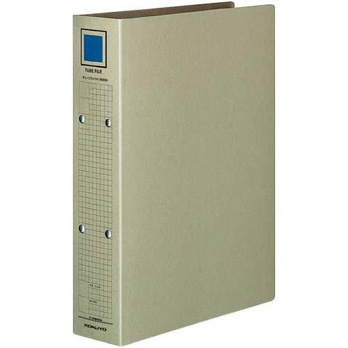 コクヨ チューブファイル(保存用)A4縦背幅67mm×5