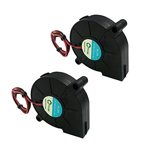 Furiga 5015 ventola 24v 50X50X15mm Blower Radiale Ventilatore DC Brushless Cavo da 30 cm per stampante 3D Radiatore 2 pezzi