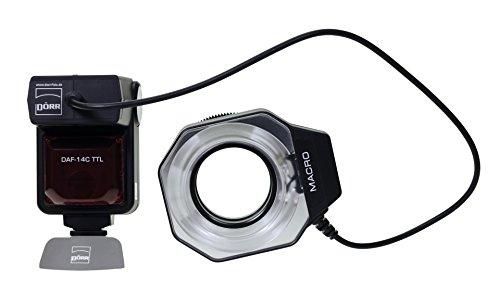 Dörr DAF-14 Flash Anillo para Canon con E-TTL II Sistema de Flash