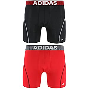 ac33a68f272a adidas Men s Sport Performance ClimaCool Boxer Underwear (2 Pack)adidas  Men s Sport Performance ClimaCool Boxer Underwear (2 Pa… 4.4 out of 5  stars798